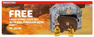 樂高復刻人偶又來啦!!LEGO 5004936 【原始人組】 Iconic Cave Minifigure Set 登場!!
