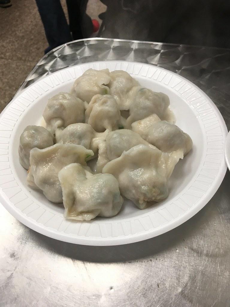 Dumplings at Yoz Shanghai