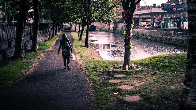 A rainy day - Dublin, Ireland - Color street photography