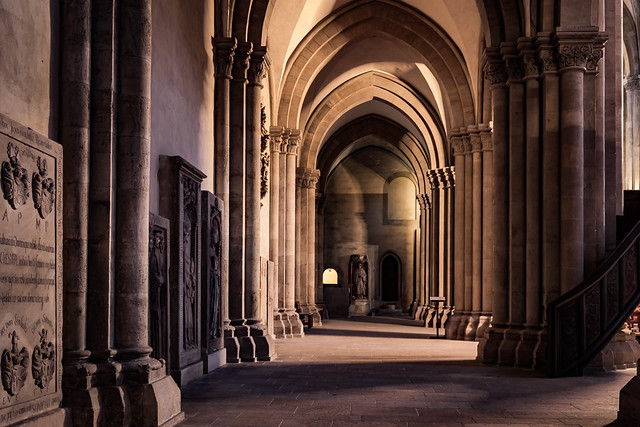 Side nave, St. Peter and Paul Cathedral, Naumburg, Saxony-Anhalt, Germany