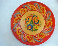 Decorated plate, Czech & Slovak museum