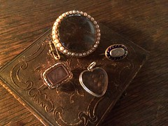 Mourning Jewelry from my Collection, June 2014