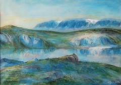 Painting: Hallingskarvet