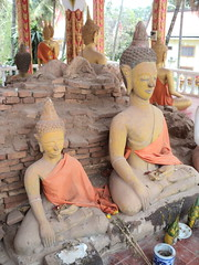 Small Buddhist Temple in Vientienne, Laos