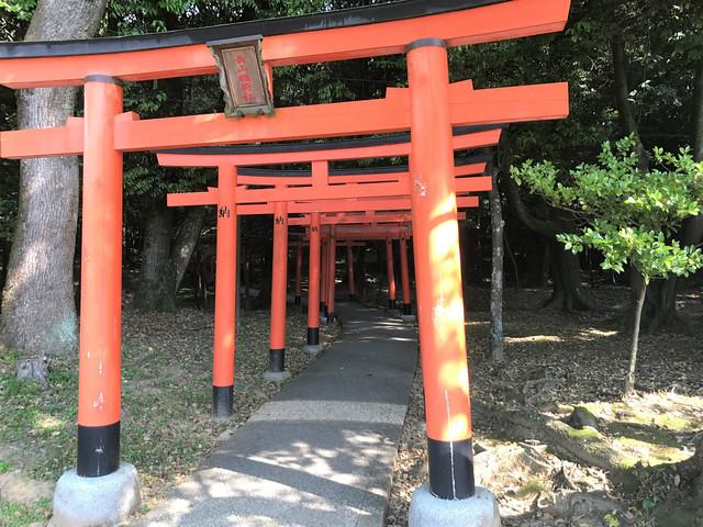 「長山稲荷神社」の御朱印