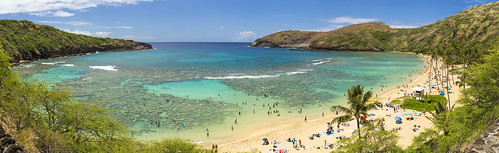 hanauma bay oahu hawaii water beach landscape travel canon 6d ef2470mmf28liiusm