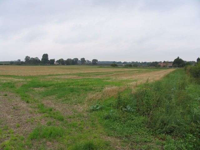 The battlefield of the Battle at Stoke at ground level