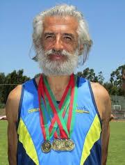 José Ribeiro - atleta e ex-professor de E. Física