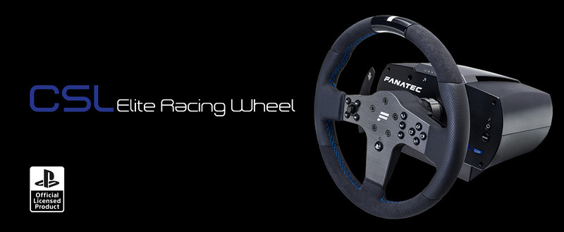 Fanatec officially Introduces licensed CSL Elite Wheel for PlayStation 4