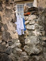 No privacy behind walls