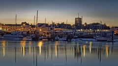 Shoreham Harbour Golden Hour