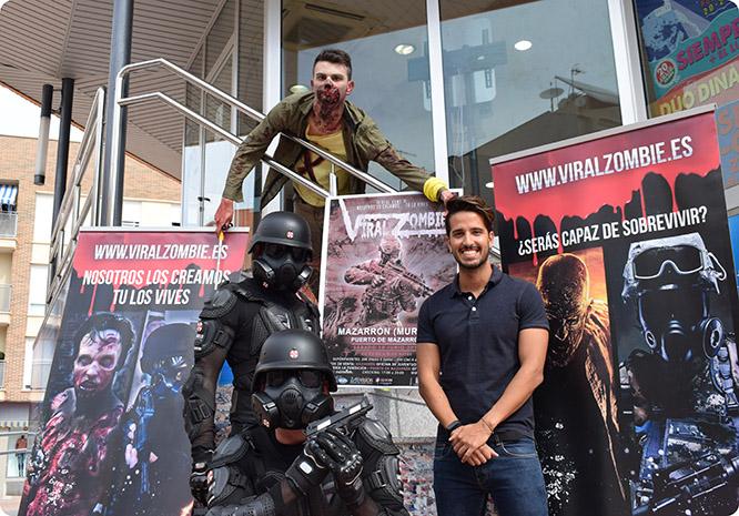 """La experiencia """"Viral Zombie"""" llega a Puerto de Mazarrón"""