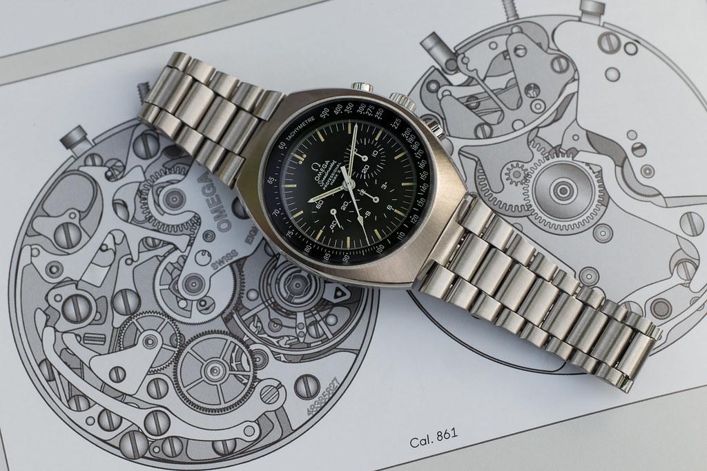 """[1969-75] ST 145.014 - Omega Speedmaster mark II, """"the eagle could have landed"""" 34648704530_a70c4c9029_b"""