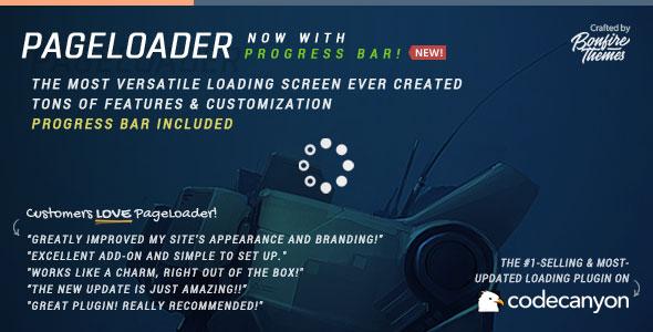PageLoader v2.5 - Loading Screen and Progress Bar