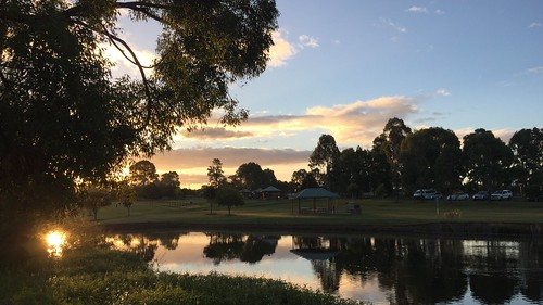 2017 lake water sunset landscape queensland meadowbrook park riverdale australia iphone6plus logancity