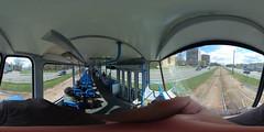 Riga tram Tatra T6B5SU interior