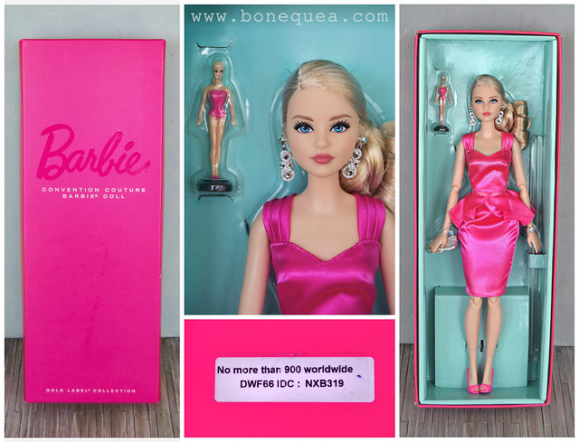 Portuguese Doll Convention: Convention Couture Barbie Doll