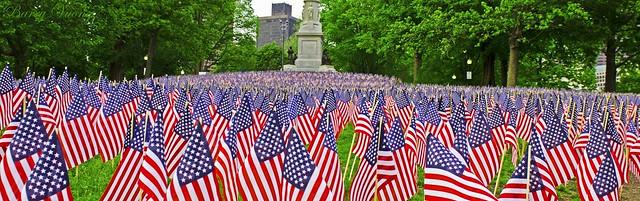 Boston Common Memorial Day 2017