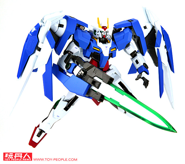 引導人類變革,超越鋼彈的鋼彈!METAL ROBOT魂《機動戰士鋼彈00》「00強化模組+GN劍III」 開箱報告
