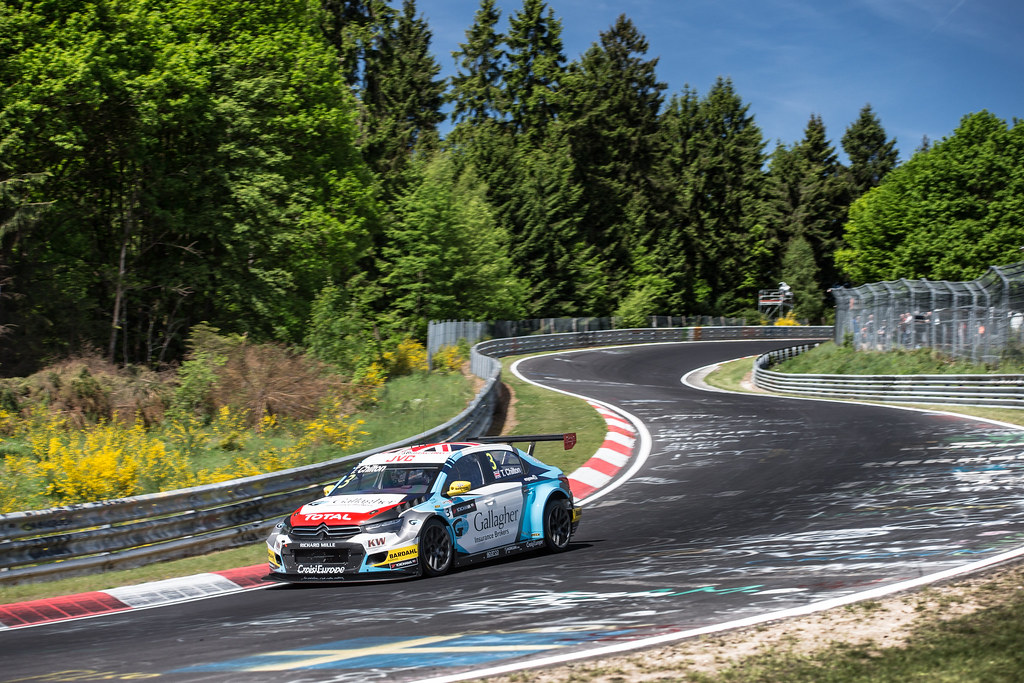 03 CHILTON Tom (gbr), Citroen C-Elysee team Se´bastien Loeb Racing, action during the 2017 FIA WTCC World Touring Car Race of Nurburgring, Germany from May 26 to 28 - Photo Antonin Vincent / DPPI