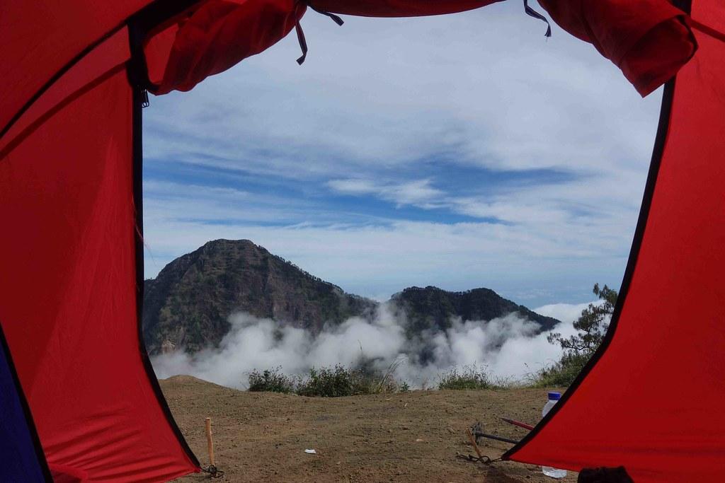 Rinjani - Jour 2 - Camp - Chambre avec Vue
