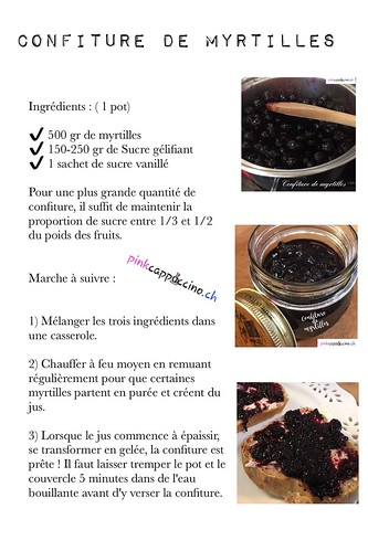 Confiture de myrtilles | by pinkcappuccino