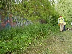 2017 05 11 004-1 CRT volunteers, Greenham Lock