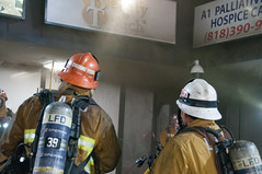 Strip Mall Fire Stopped