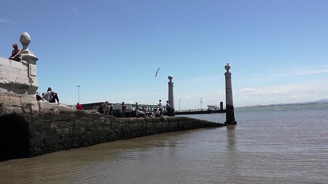 Cais das Colunas - mini beach