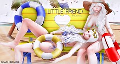 * Little Friend- Beach bench *