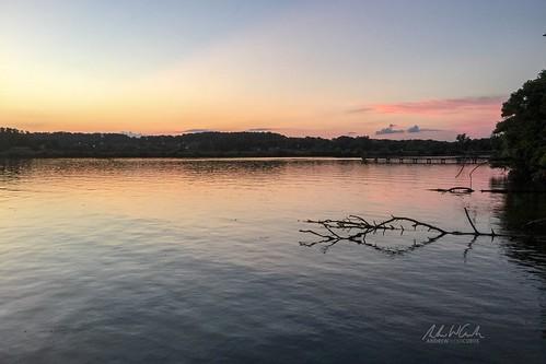knoxville tennessee unitedstates us sunset lake outdoors nature tn travel wanderlust explore