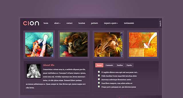 Cion WordPress Theme free download