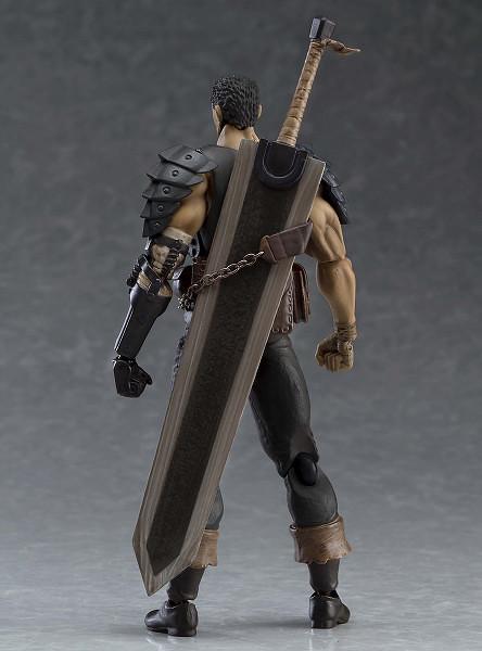figma《烙印勇士》凱茲 黑色劍士ver. 重塗版(ガッツ 黒い剣士ver. リペイントエディション)