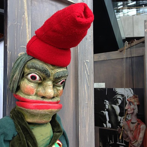 チェコといえば、マリオネット。 #日本におけるチェコ文化年 #チェコ人形劇