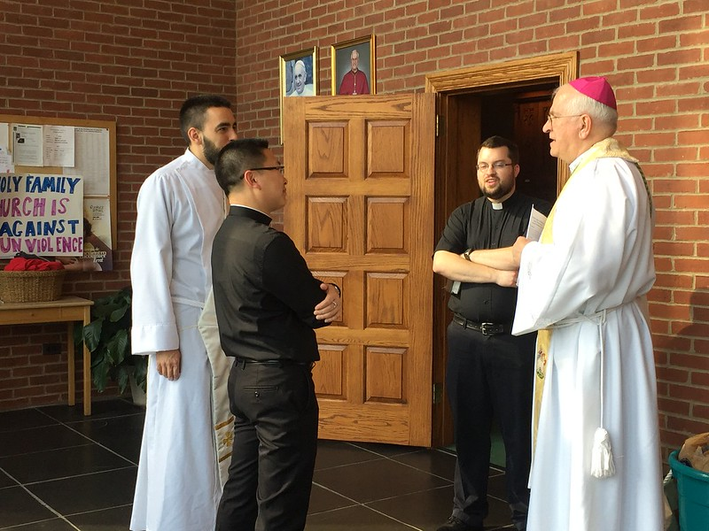 Holy Hour before Presbyteral Ordination