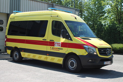 Ambulance - Brandweer Wuustwezel
