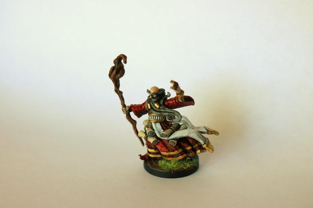 Runewars Miniatures Wizard Front