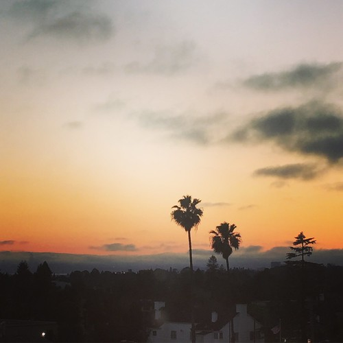 sunset oakland california