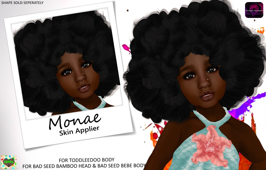 **DoRks** Monae Skin - Toddleedoo Fair - SecondLifeHub.com