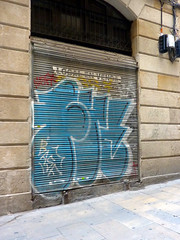 Graffiti in Barcelona 2013