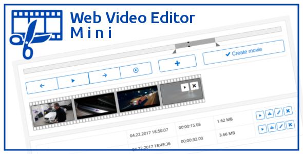 Web Video Editor Mini v1.0.0