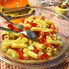 It's springtime what's better than a pasta salad today at lunch #italianfood #Tuscany #cookingclass #italy #cooking #italian #italiancooking #italiancuisine #pasta #pastatime #pastasalad