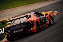 Ferrari in turn 6