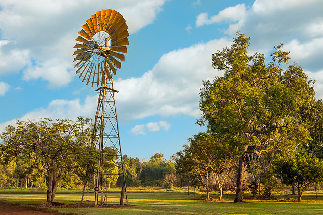 Windmill in the Australian Outback!