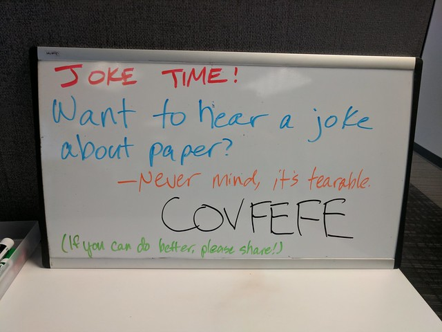 Joke Board: Tearable