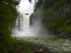 Snoqualmie Falls from Below