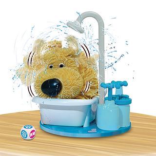 夏日必備的清涼派對遊戲~ 心驚膽跳的洗澡時間!甩水狗 ドキドキシャワータイム!ブルブルワンコ