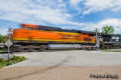 BNSF 6411 | GE ES44AC | NS Memphis District