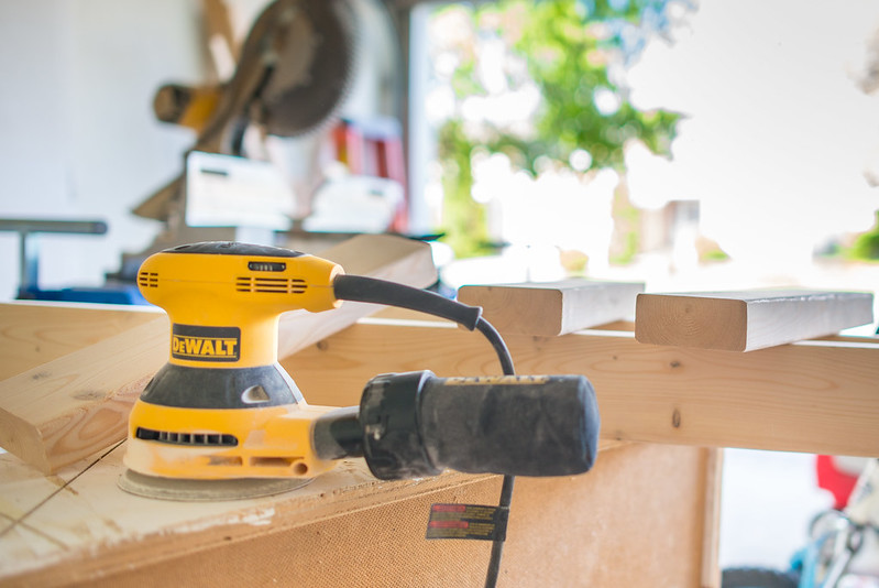 DeWalt the sander of choice