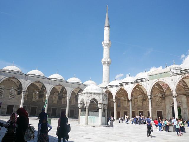 Blue Mosque, Panasonic DMC-GF7, LUMIX G VARIO 12-32mm F3.5-5.6